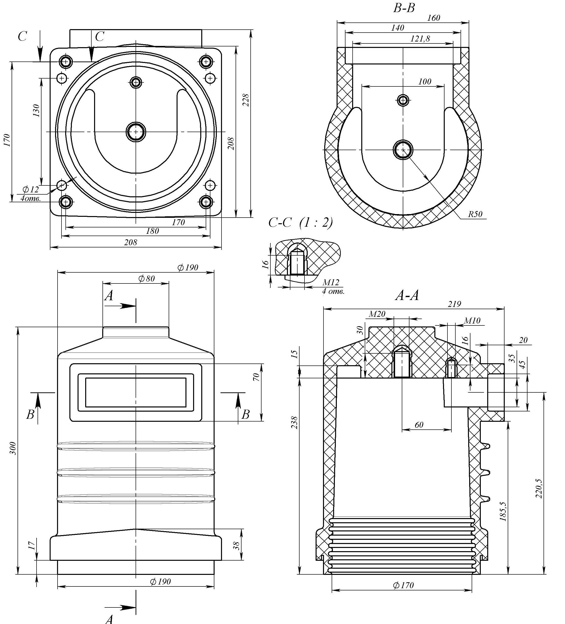 ИПЛУ-10--II--2000-А-чертеж